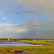 Plum Island Rainbow Art Print