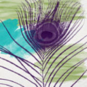 Plumage 2-art By Linda Woods Art Print