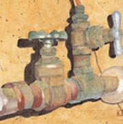 Plumbing Art Print