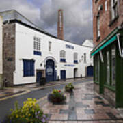 Plymouth Gin Distillery Print by Donald Davis