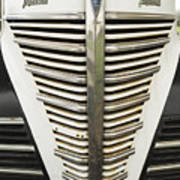 Plymouth Grille Art Print