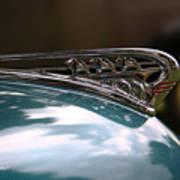 Art Deco Plymouth Hood Ornament Art Print
