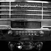 Plymouth Radio Art Print