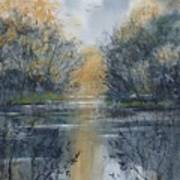 Pm River 2 Art Print