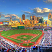 Pnc Park Print by Shawn Everhart