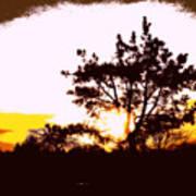 Pnw Sunset Art Print