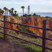 Point Loma Lighthouse California Art Print