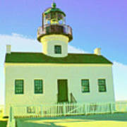 Point Loma Lighthouse Art Print