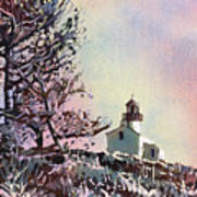 Point Loma Lighthouse- San Diego Art Print