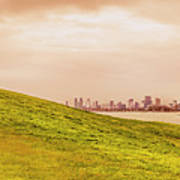 Point Ormond To The City Art Print