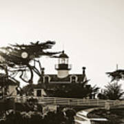 Point Pinos Lighthouse Art Print
