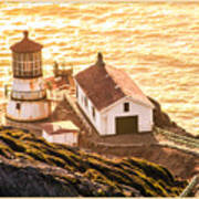 Point Reyes Lighthouse 2 Art Print