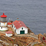 Point Reyes Lighthouse Ca Art Print by Christine Till