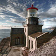Point Sur Lighthouse - California  Art Print