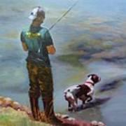 Pointin Fish Art Print