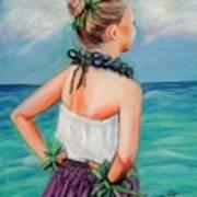 Poipu Hula Art Print