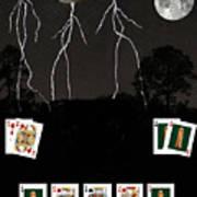 Poker Cards Art Print