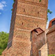 Poland, Torun, Crooked Tower. Art Print