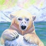 Polar Playtime Art Print
