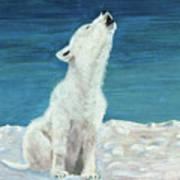 Polar Pup Art Print