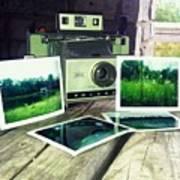 Polaroid Land 320 Art Print