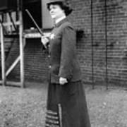 Policewoman, 1909 Art Print