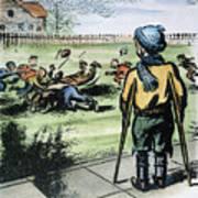 Polio Cartoon, 1957 Art Print