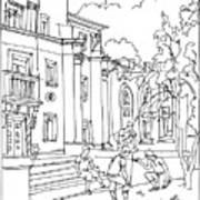 Polish Court Art Print