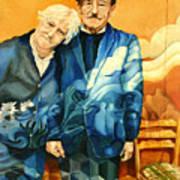 Polish Immigrants Art Print