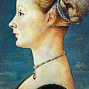 Pollaiuolo: Young Woman Art Print