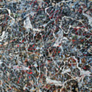 Pollock's Ghosts Art Print