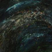 Pollution Galaxy Art Print