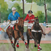 Polo In The Afternoon 2 Art Print