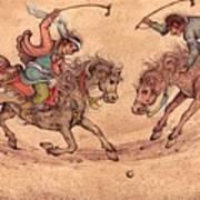 Polo Art Print