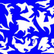 Polygon Sky Art Print