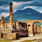 Pompeii Redeux Art Print