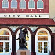 Ponca City City Hall Art Print