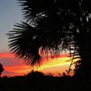 Ponce Inlet Florida Sunset Art Print