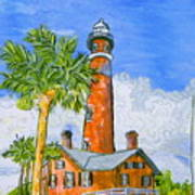 Ponce Lighthouse Art Print