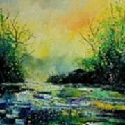 Pond 459060 Art Print