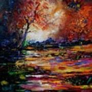 Pond 671254 Art Print