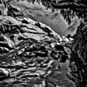 Pond At Great Falls #4 Art Print