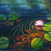 Pond Jewels Print by Pat Burns