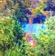 Pond Overlook Art Print