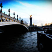 Pont Alexandre Print by Cabral Stock