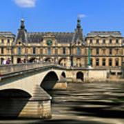 Pont Du Carrousel Art Print