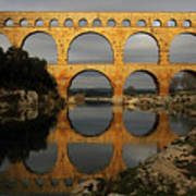 Pont Du Gard Art Print by Boccalupo Photography