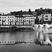 Ponte Alla Grazie Art Print