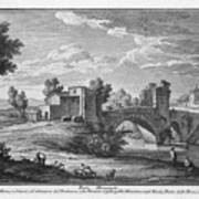 Ponte Mammolo Art Print