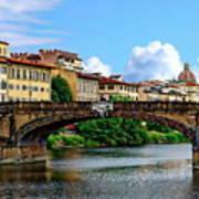 Ponte Santa Trinita Art Print